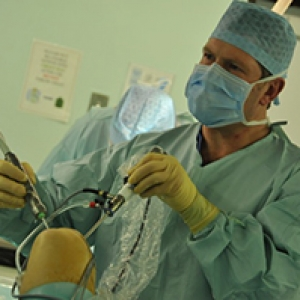 Preparing the knee during ACL reconstruction